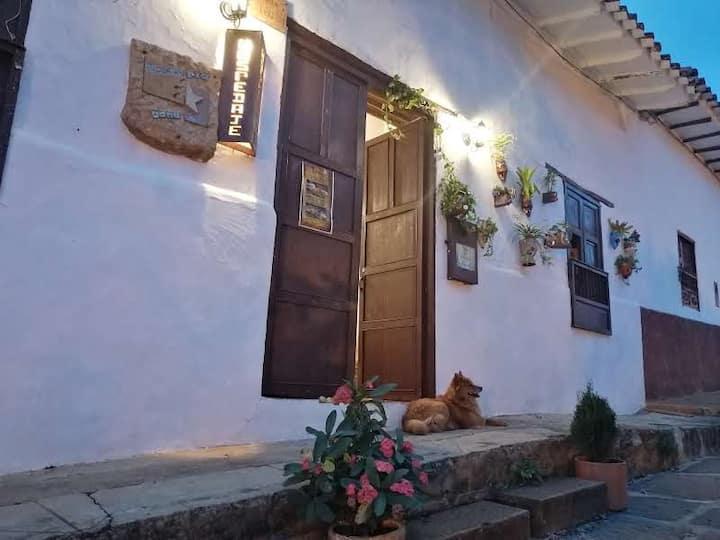 Casa en Barichara para 8 personas en adelante