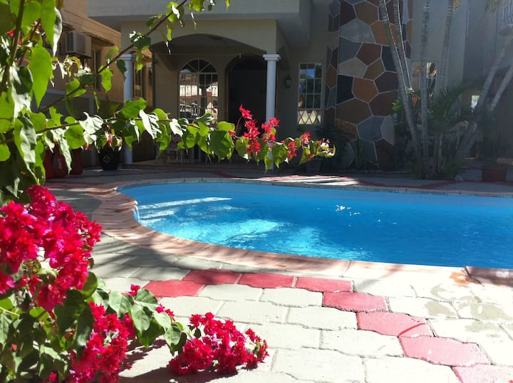 Apartment with 2 bedrooms in Trou aux Biches, with shared pool, enclosed garden and WiFi