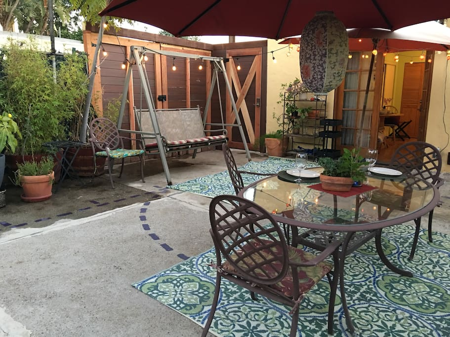 Enjoy as your outdoor living room