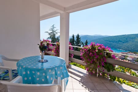 Charming  apartment studio for 2 - Rabac - Daire