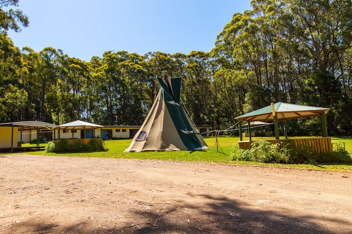 Ti Pi experience at Fitzroy Falls - Wildes Meadow - Tipi