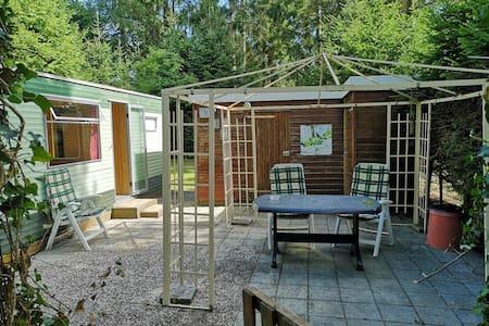 Stacaravan te huur op camping De Schaopvolte Eext.