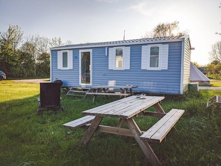 Tiny House 1   Ferienwohnung  Mobilheim  Fehmarn