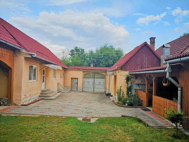 Mountain Countryside House &  Courtyard near Sibiu