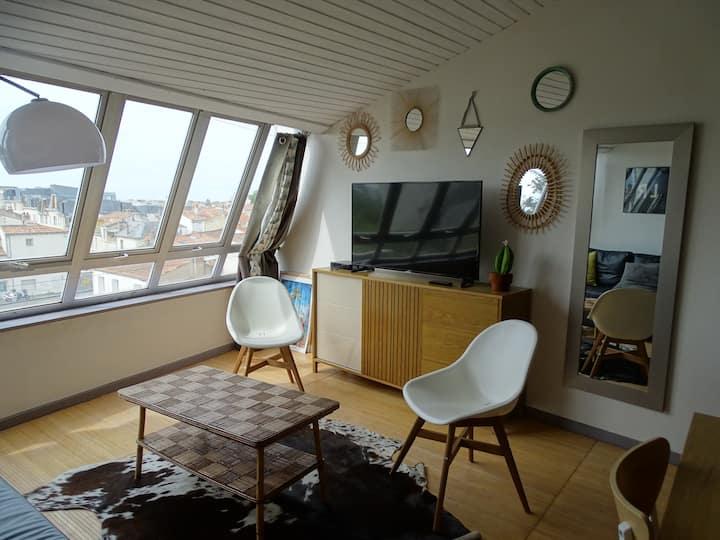 Appartement en centre-ville de la Rochelle