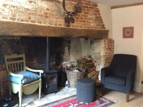 Traditional Norfolk Broads' Cottage