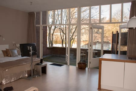 comfortable, large Studio, City Centre - Venlo - Loft