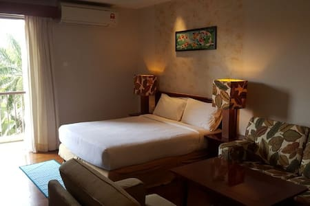 Studio Facility with two Single Bed+ Swimming Pool