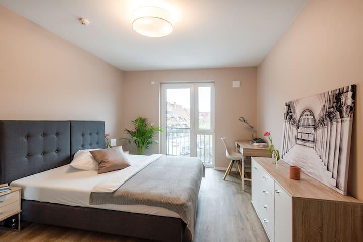 Neubau mit 2 Schlafzimmern für bis zu 4 Personen