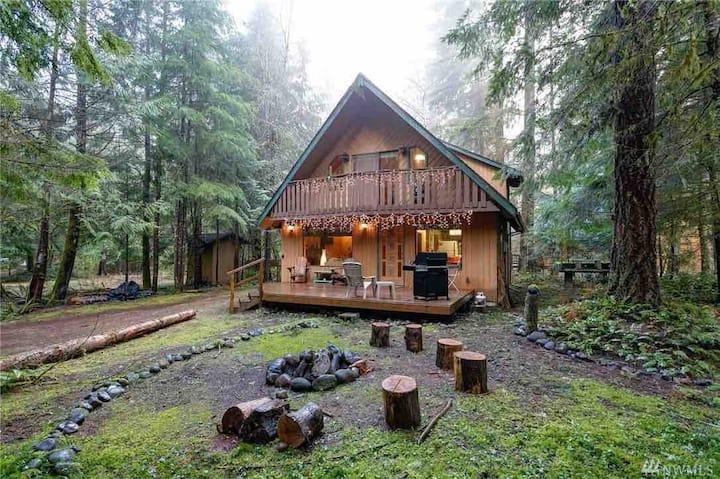Cozy and Stylish Mt. Baker Cabin, WiFi, Sleeps 6-8