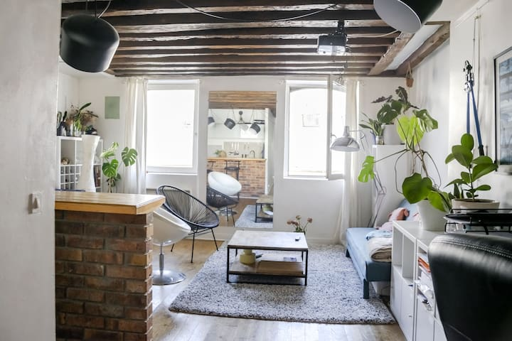 Appartement au cœur du Marais