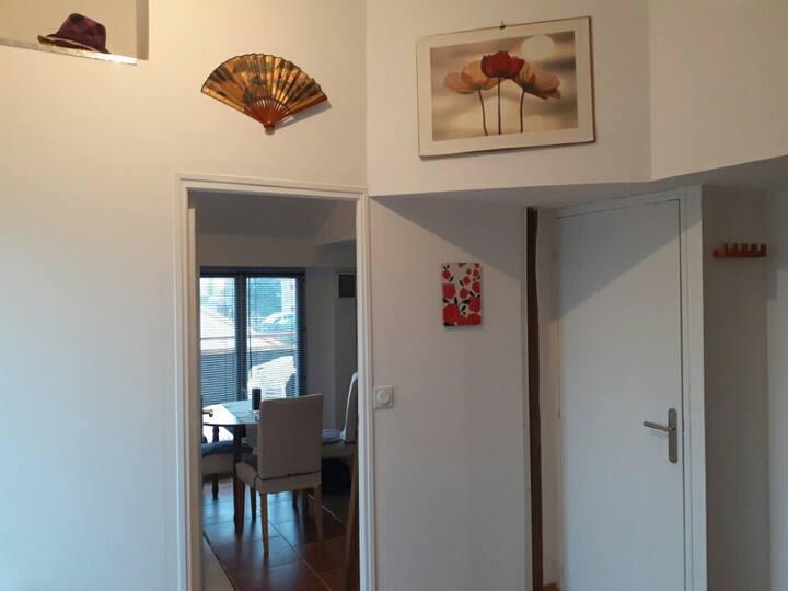 Nantes Sud, maison zen et cosy
