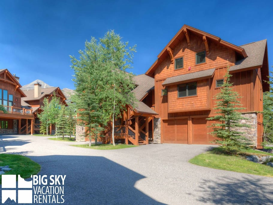 Big Sky Resort, Black Eagle Lodge 10, Exterior, 1
