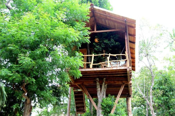 Sea View romantic Tree House