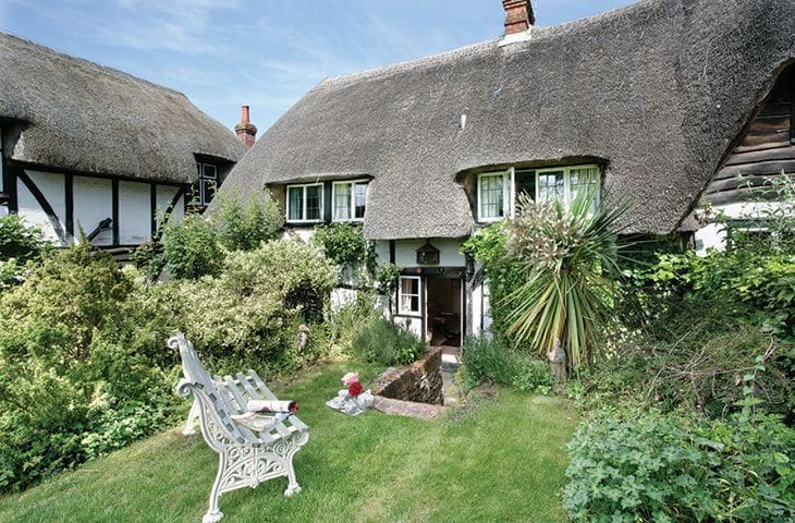 Spring Cottage (Hampshire) - Chilbolton, Nr Stockbridge - Casa