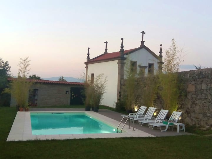 Villa with 8 bedrooms in Póvoa de Lanhoso, with wonderful mountain view, private pool and enclosed garden - 35 km from the beach