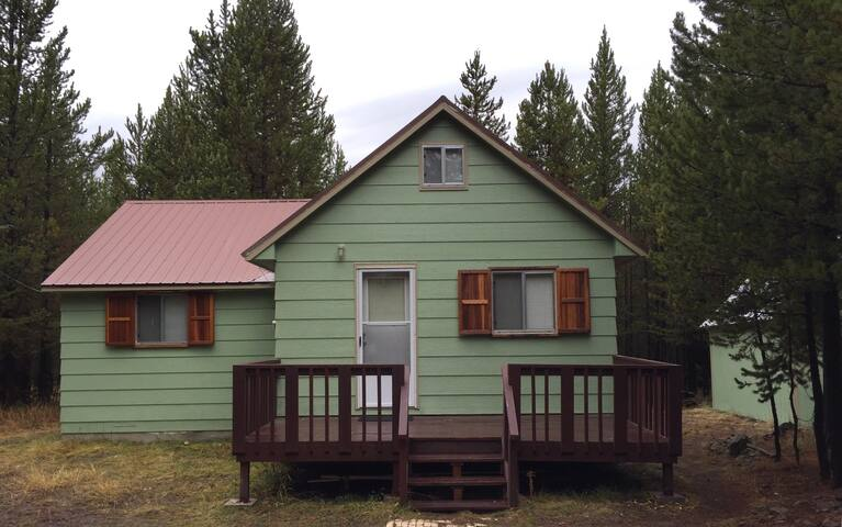 Forest Cottage- Sleeps 8 $150 near YNP - Island Park - Haus