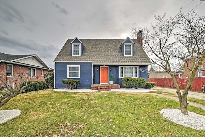 NEW! Charming Family Home: 30 Mi to Shenandoah NP!