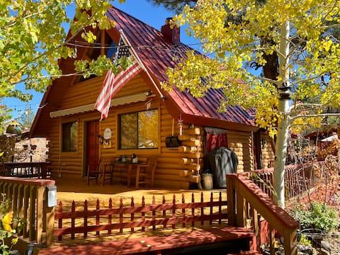 Log Cabin Retreat in Munds Park