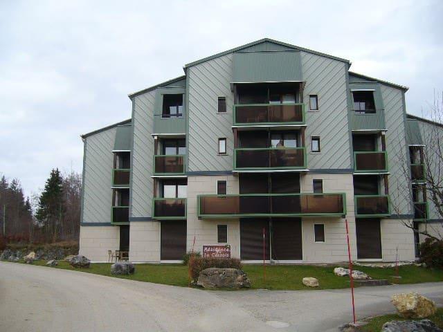 STUDIO MEUBLE A PREMANON  HAUT JURA - Prémanon - Appartement en résidence
