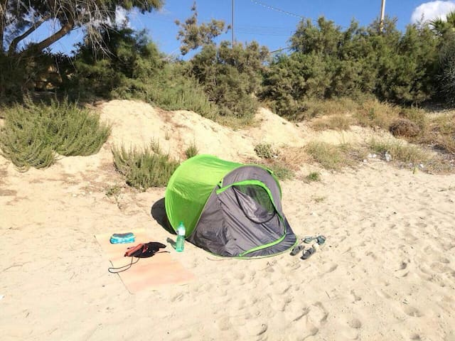 2 person tent to take anywhere in Malta and Gozo