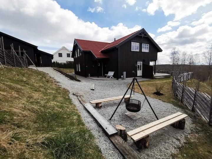 Attraktivt hus til leie-kort avstand til Sjusjøen!