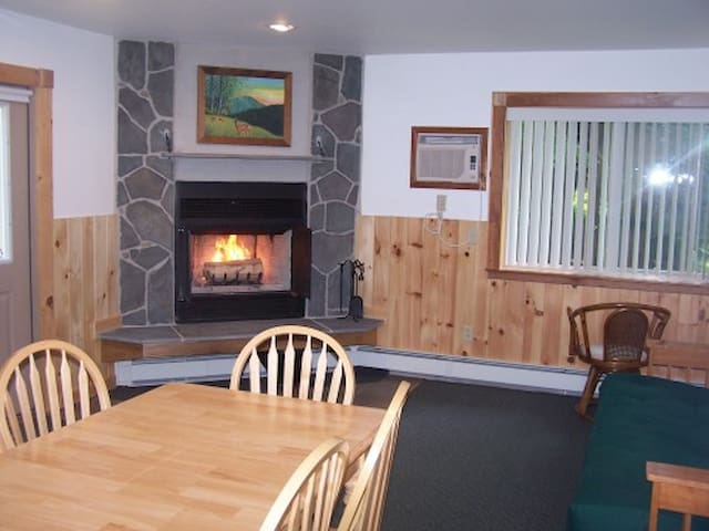 One bedroom Chalet Apt. w/fireplace - Big Indian - Apartamento
