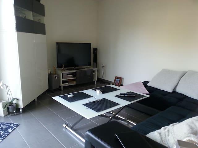 Appartement et Jardin Près de Bordeaux