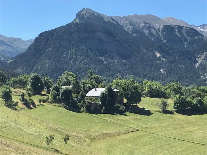 Maison en montagne au calme avec vue panoramique