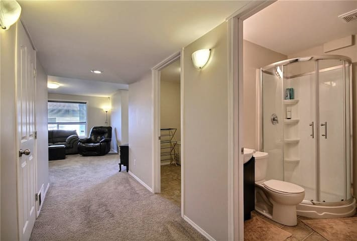 Lovely 1 bedroom basement for your privacy