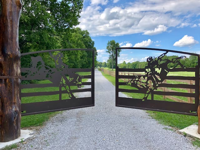 When the Ranch Gates Open Be Ready to Enter Our Little Slice of Paradise.