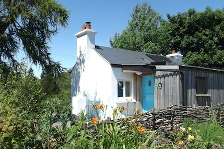 Off grid rural eco cottage on a smallholding