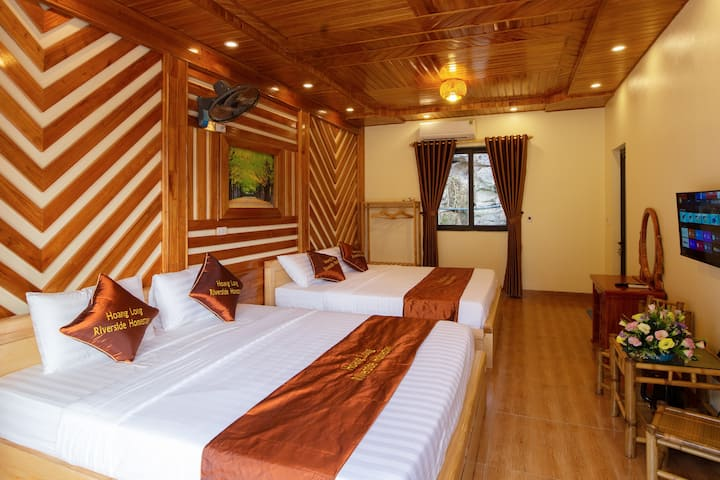 Family room in trang an scenic landscape complex