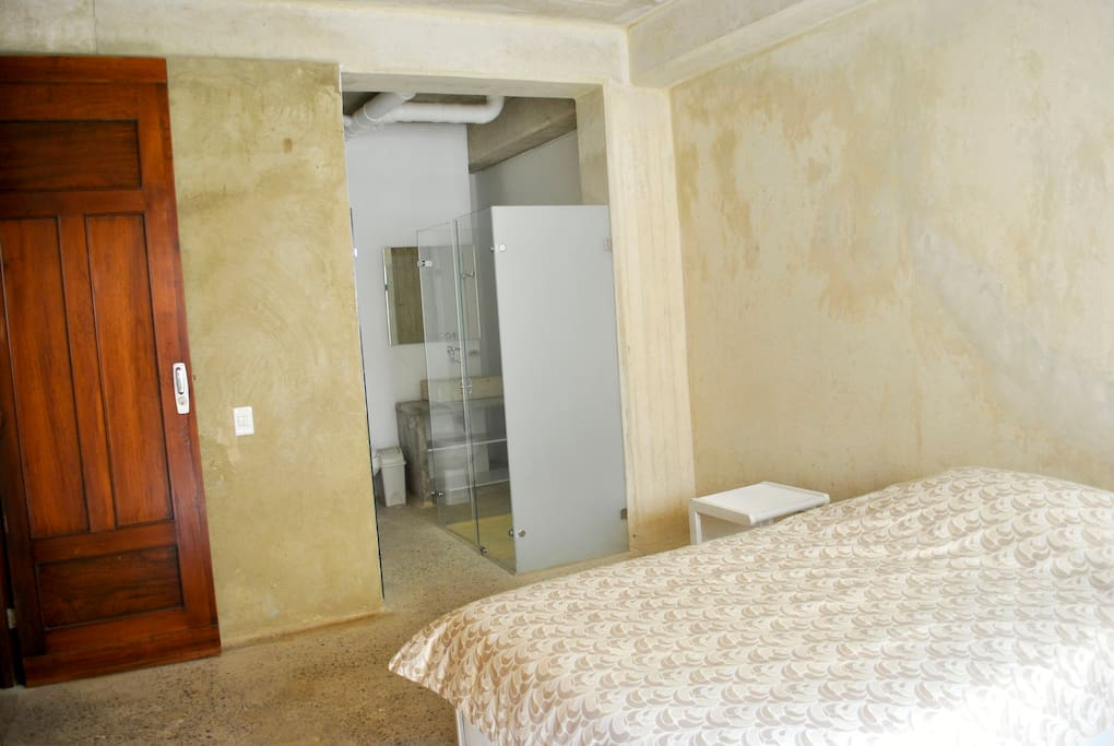 Private Bedroom Furniture (Bed 1,20 1,90cm, 1 night table, desk, chair, closet and balcony)
