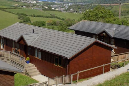 Millbrook View - A Luxuary 3 bedroom lodge - Cornwall - Sommerhus/hytte