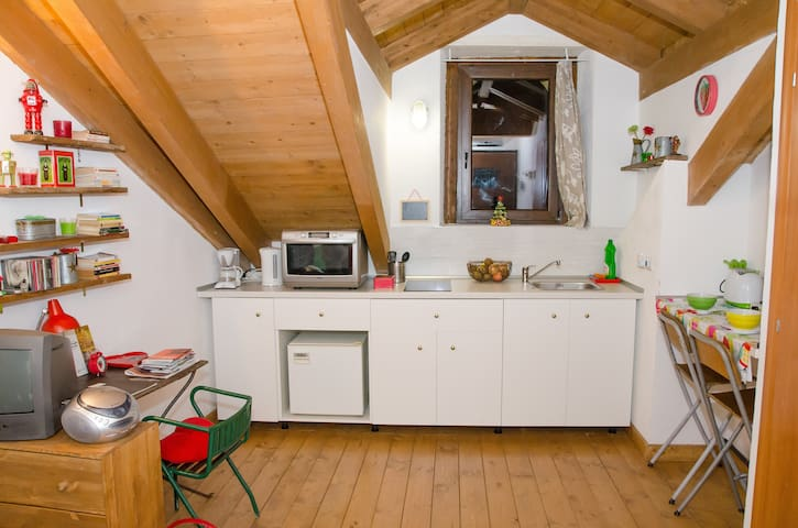 Cute attic 5 min. from downtown