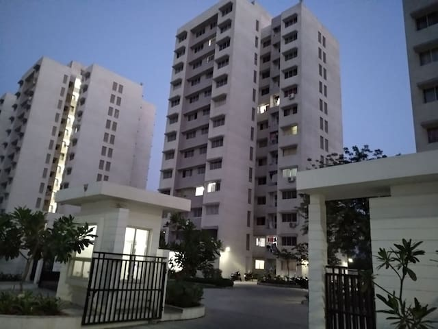 Entire 1 BHK Top Floor Flat Family or Executive E