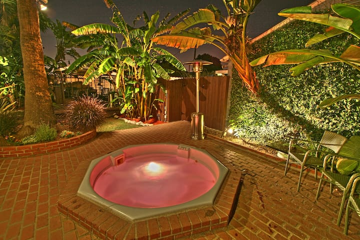 The jacuzzi!  you will love it.