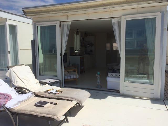 Luxueus strandhuisje 2 personen - Wijk aan Zee - Kabin