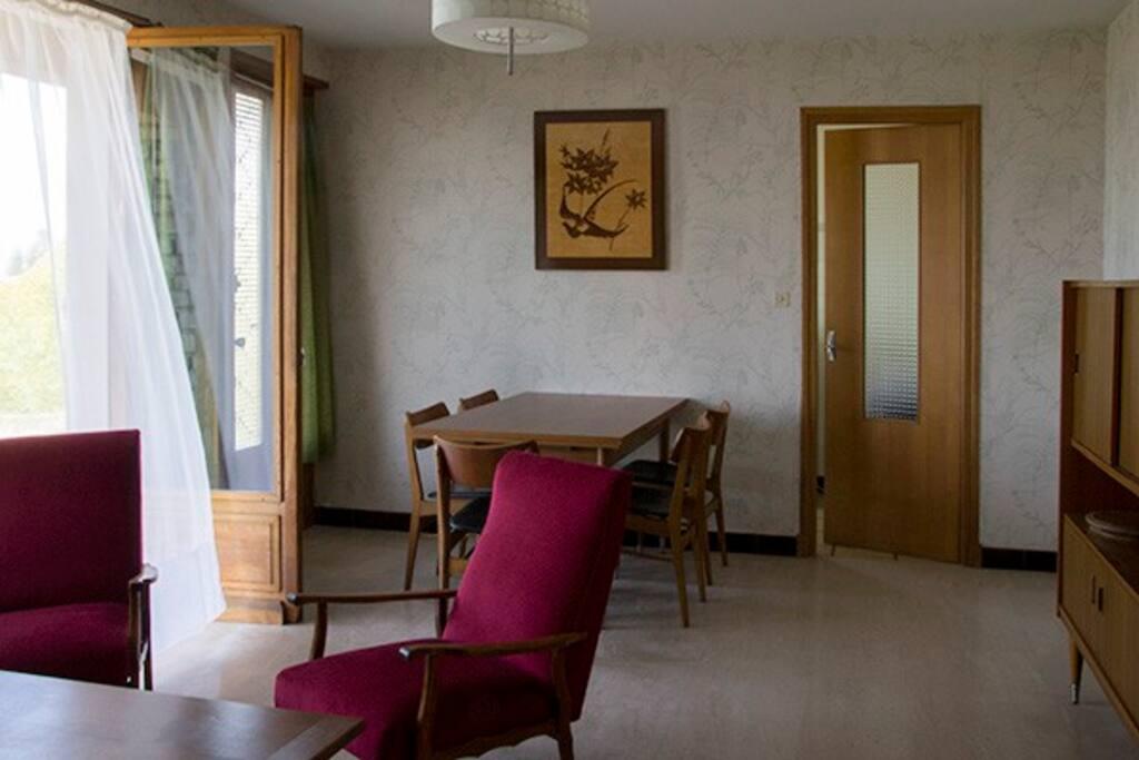 Tout en vintage le salon / salle à manger