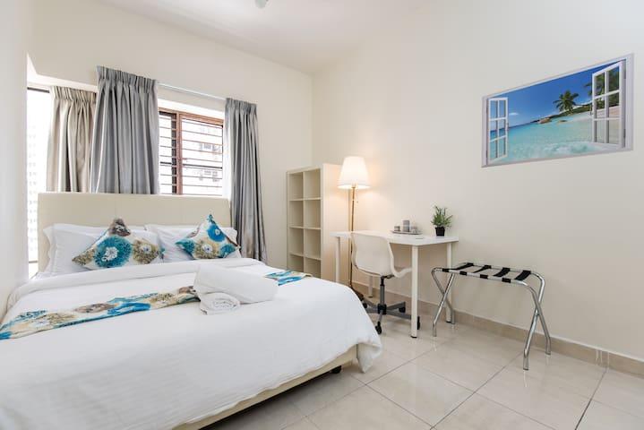 Romantic Beach Suite @ Bandar Utama with Pool View - Petaling Jaya - Apartamento