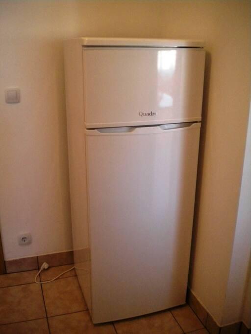 Big fridge with freezer