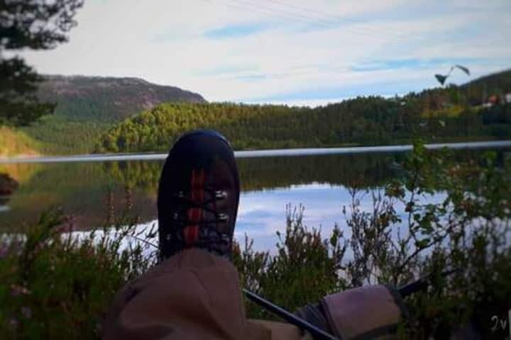 Trout fishing, hiking and scenic environment