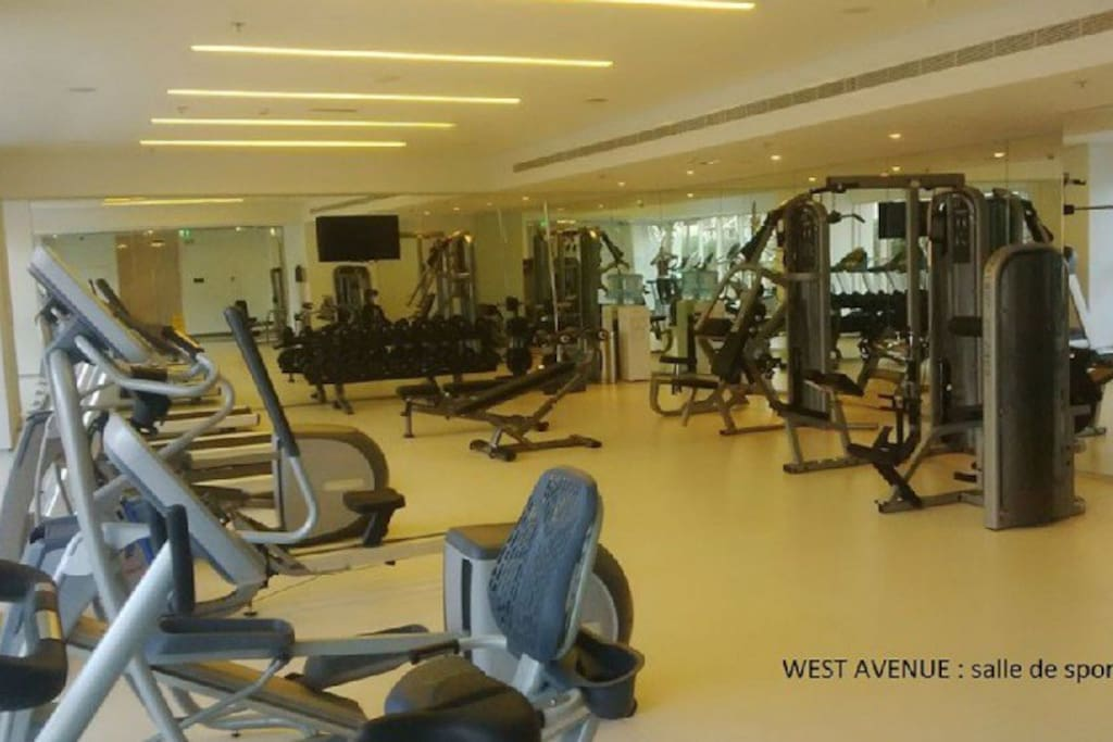 Gym in the residence