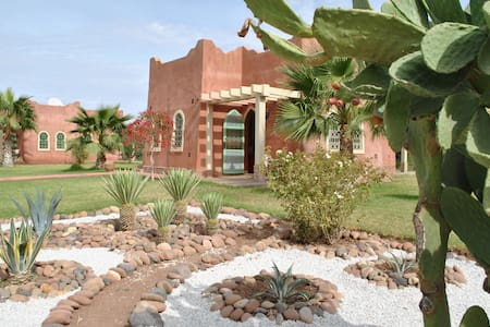 Maison d'hôtes dans Riad avec piscine - Marakesz - Dom