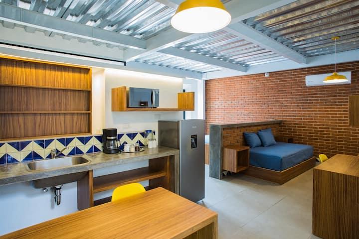 Departamento tipo Suite en centro de Xalapa, Ver.