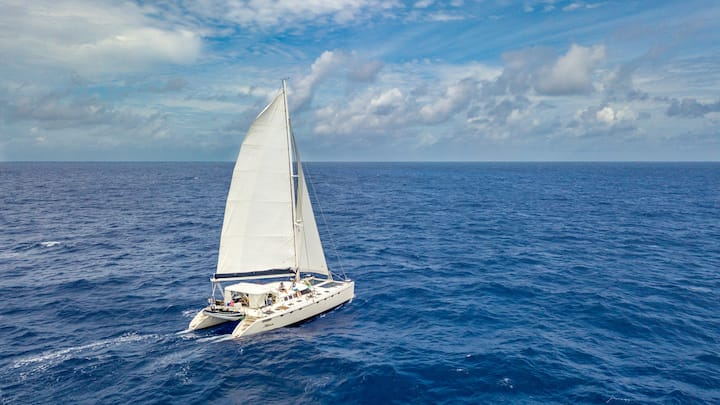 Sail Abaco on This Clean & Self Sustaining Vessel!