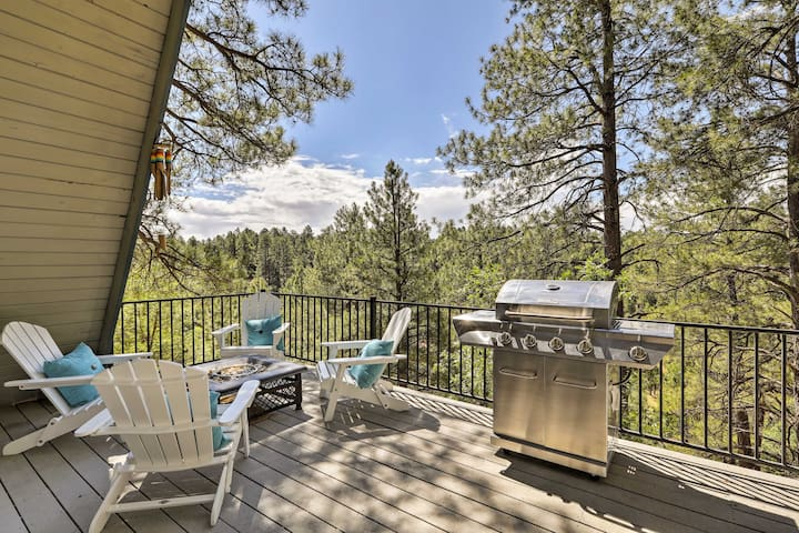 Enjoy Flagstaff views from deck of this 3-bedroom, 2-bath vacation rental home!