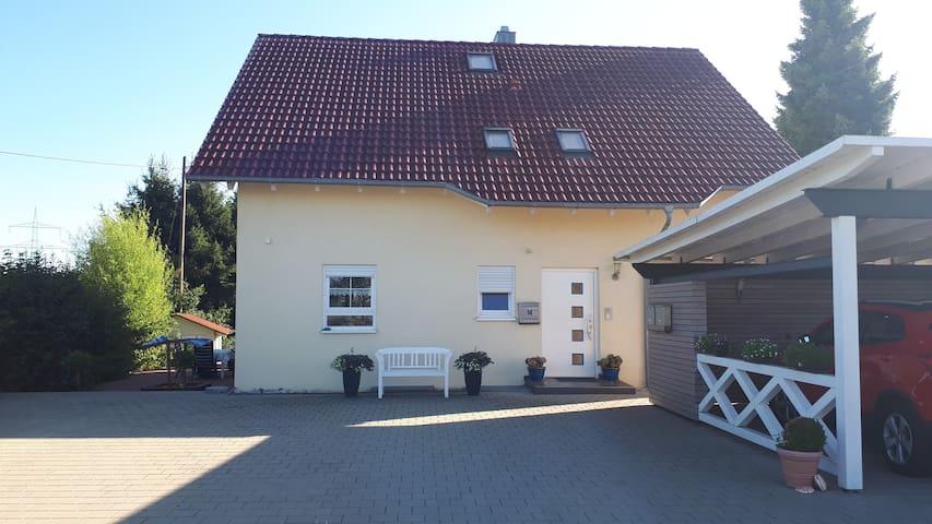 In der Nähe von Biberach/Riß gemütlich wohnen