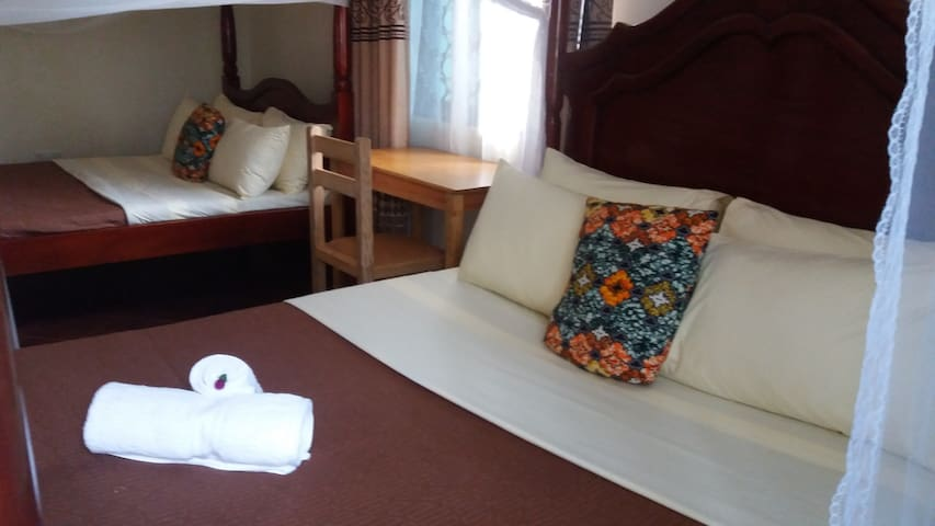 Anna's Place Entebbe - Twin Budget Room